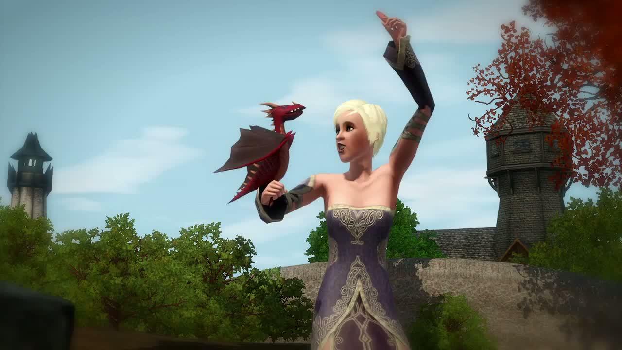Под названием Sims 3 Долина Драконов (The Sims 3 Dragon Valley). Как