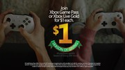 Xbox Live Gold a Game Pass za 1 euro