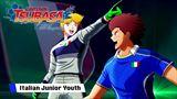 Captain Tsubasa: Rise of New Champions predstavuje taliansky tím