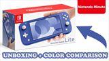 Nintendo bližšie ukazuje Switch Lite Blue