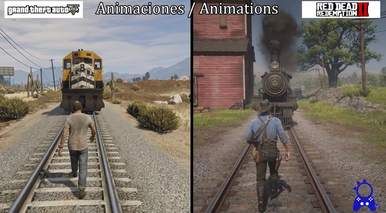 GTA V vs Red Dead Redmeption 2