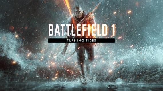 Battlefield 1 Turning Tides balík máp vyjde v decembri