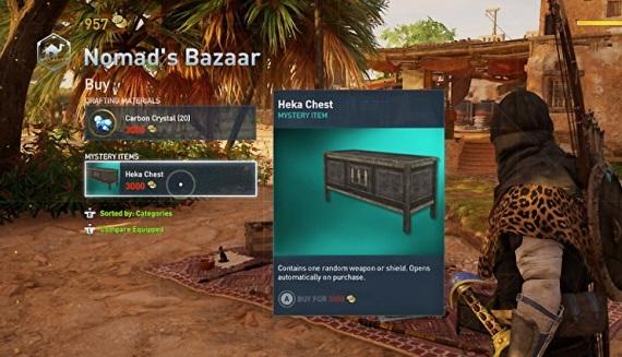Lootboxy v Assassin's Creed Origins nie sú založené na mikrotransakciách