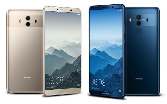 Huawei Mate 10 a Mate 10 Pro predstavené, Pro verzia bude mať OLED