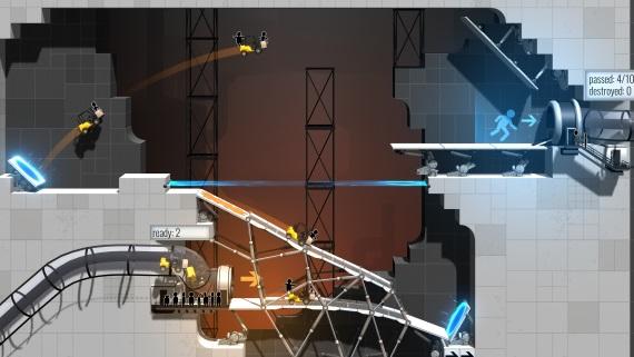 Portal a Bridge Constructor sa spoja v jednej hre