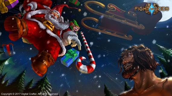 Do Fight of Gods prichádza samotný Santa Claus