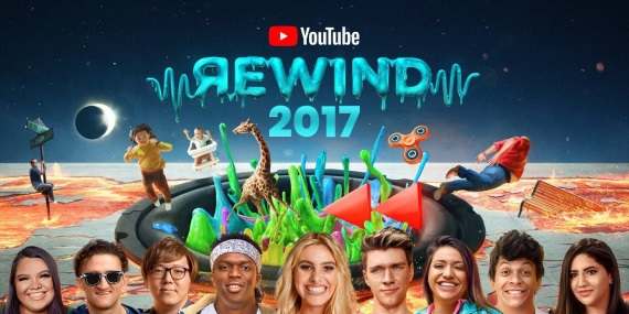 Aké boli najpopulárnejšie videá za rok 2017 na youtube?