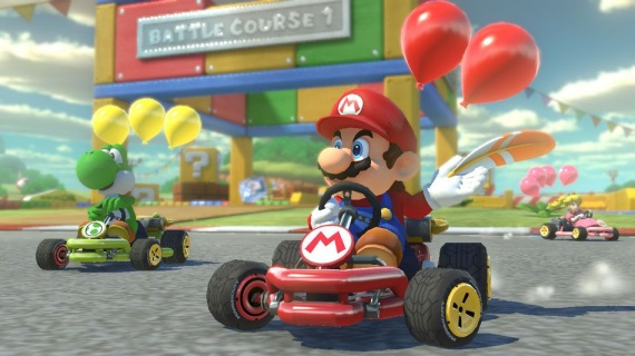 Ukážka Mario Kart VR