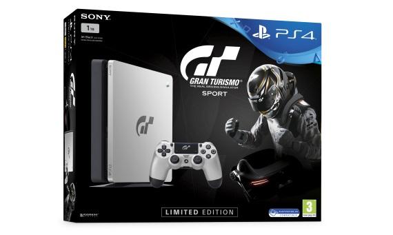 Limitovaná PS4 Gran Turismo Sport konzola predstavená