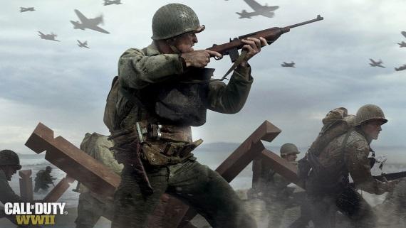 Prvé gameplaye z bety Call of Duty WWII