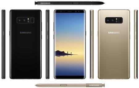 Samsung Galaxy Note 8 predstavený
