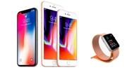 Apple predstavilo nové hodinky a nové iPhone 8, 8 plus mobily a 1000 dolárový iPhone X