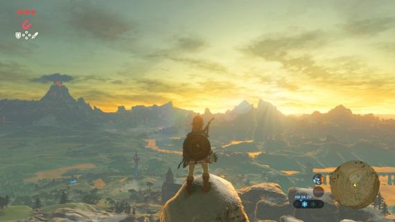 Ukážka The Legend of Zelda v 4k a 60 fps