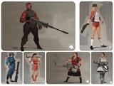 Ako by vyzeral Team Fortress 2, keby mužov v hre nahradili ženy?