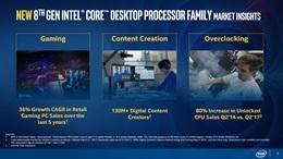 Intel predstavil ceny procesorov 8. generácie, prídu v októbri