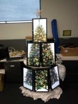 Chcete nápad na zaujímavý vianočný stromček?