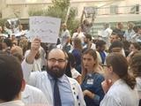 Protestujúci doktor