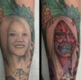 Keď sa rozhodnete odstrániť tetovanie vašej bývalej manželky