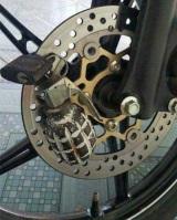 Skutočne účinná zámka na bicykel