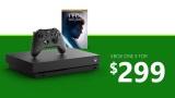 Xbox One X bundle sú teraz v akcii za 299 eur