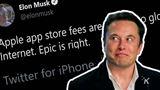 Musk hovorí, že 30% podiel Apple zo store je ako globálna daň na internet