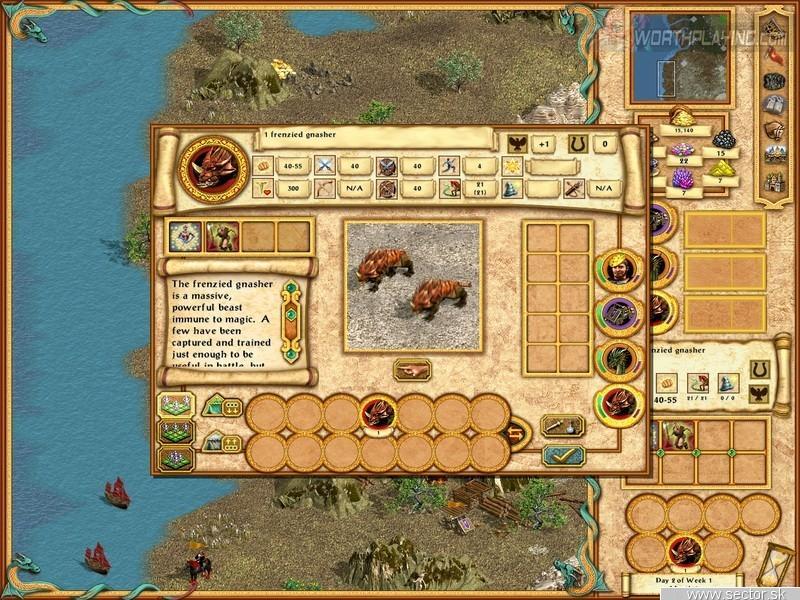 Heroes of Might and Magic 4: Winds of War. Перейти к просмотру случайной и
