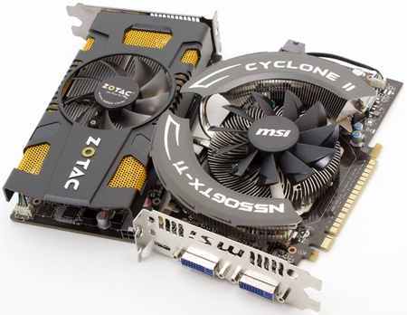 GeForce GTX 550 Ti v predaji