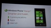 Microsoft predstavil Mango update pre WP7