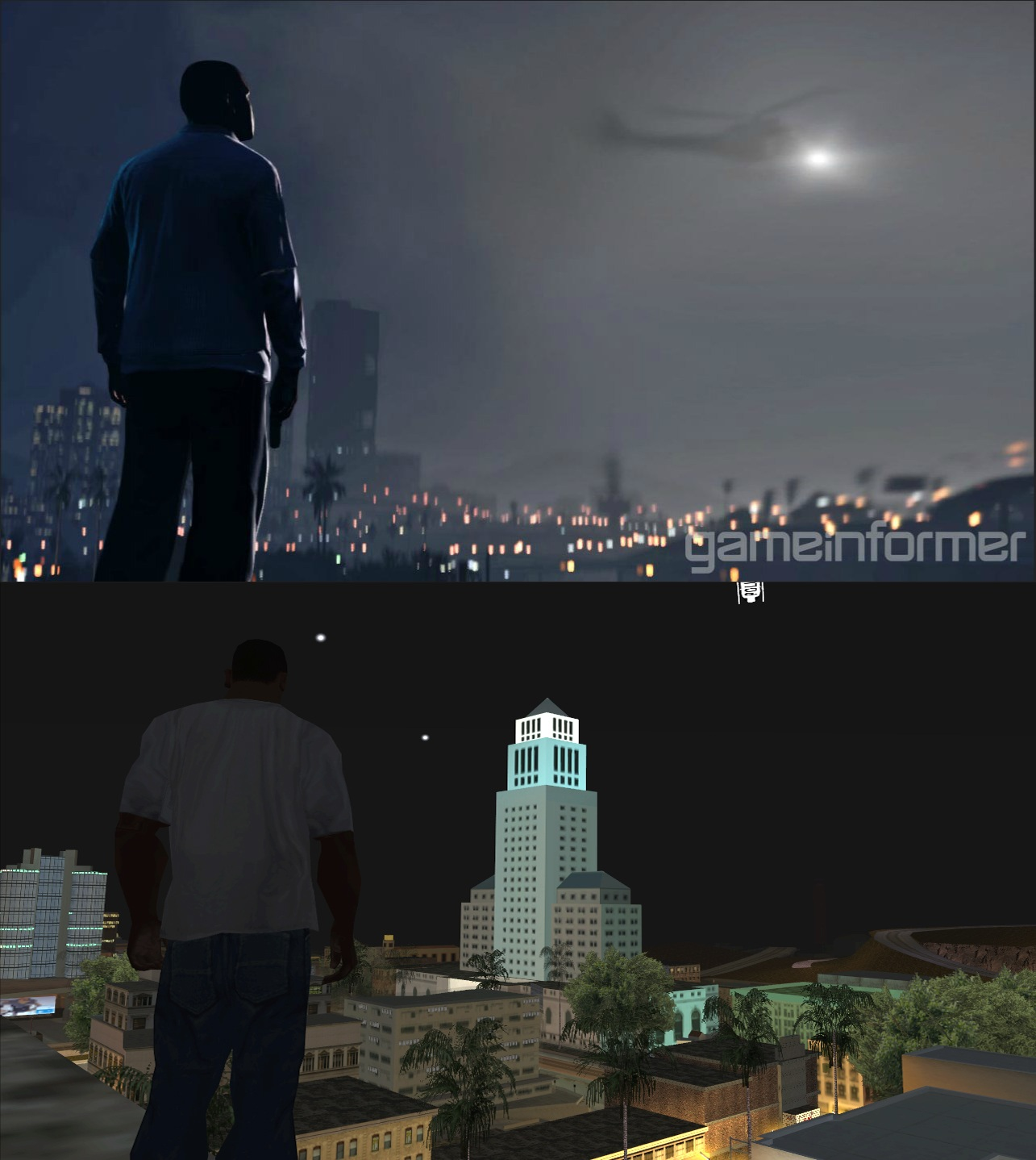A more realistic map view of San Andreas : GrandTheftAutoV