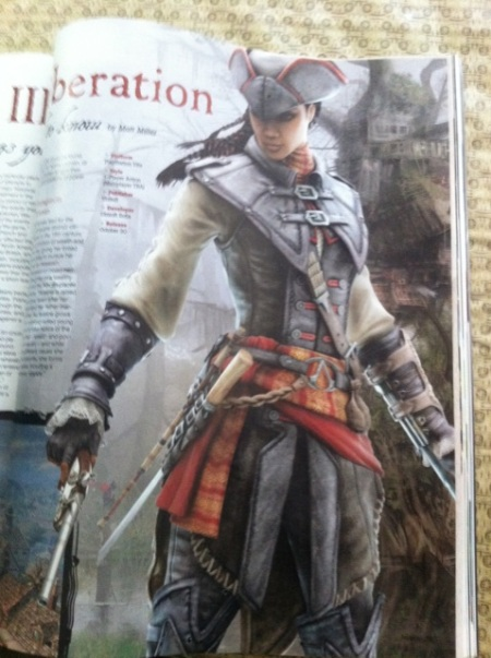 Assassin's Creed 3: Liberation na PS Vita