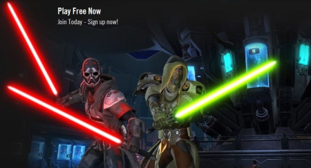 Star Wars: The Old Republic bez poplatkov
