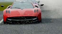 Mraky a voda v CARS