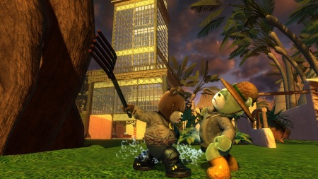 Naughty Bear sa pobije na rajskom ostrove