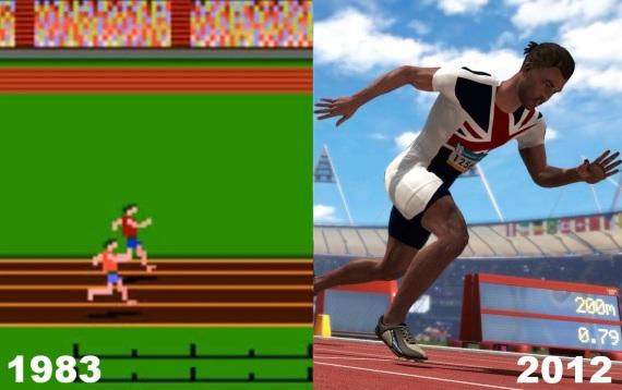 História olympijských videohier