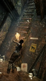 Lara Croft bojuje o �ivot aj na GamesCome