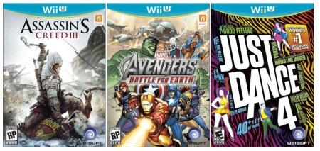 Ukážka Wii U boxartov