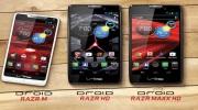Motorola ohlásila tri nové RAZR mobily