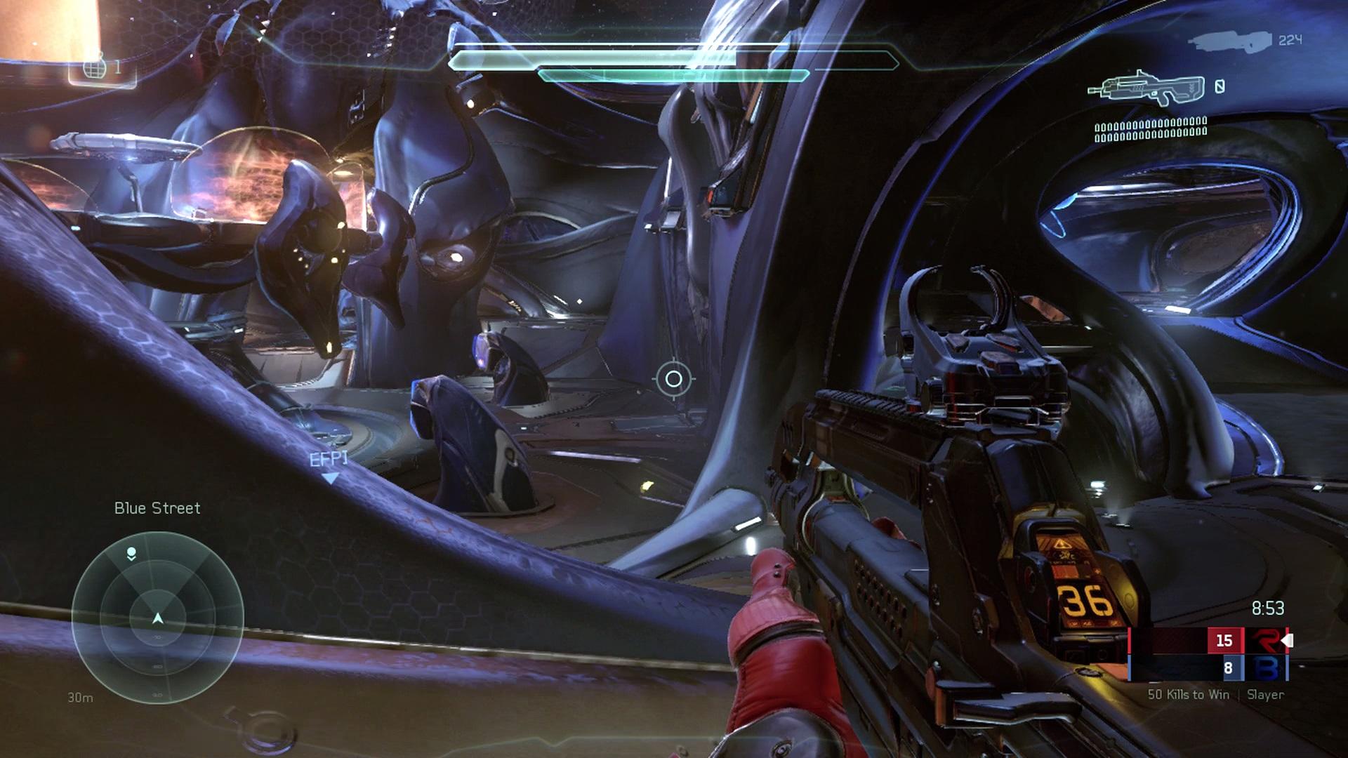 Ukážka a zábery z multiplayerovej bety halo 5: guardians