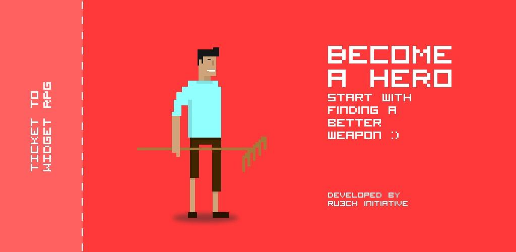Sta?te sa hrdinom v slovenskej android hre Widget RPG