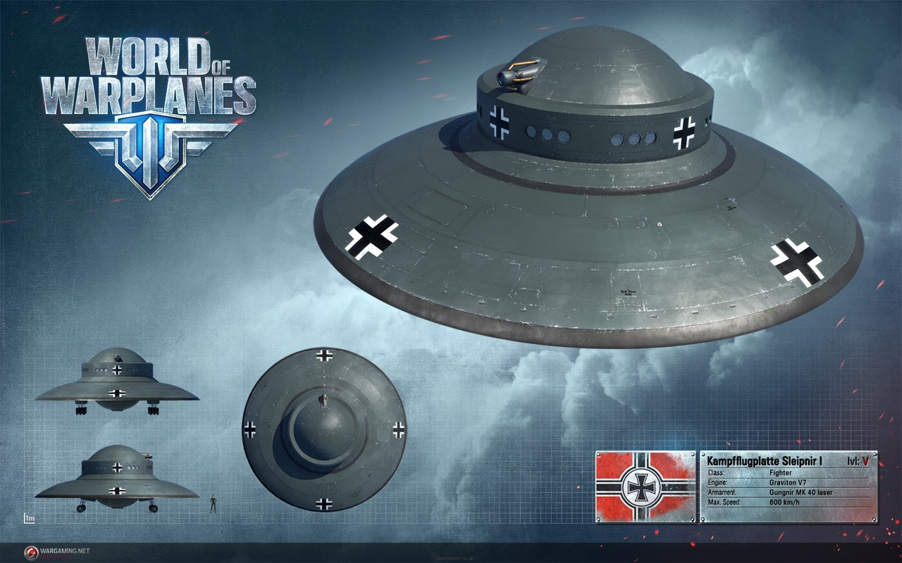 World Of Warplanes Testuje UFO  Sector
