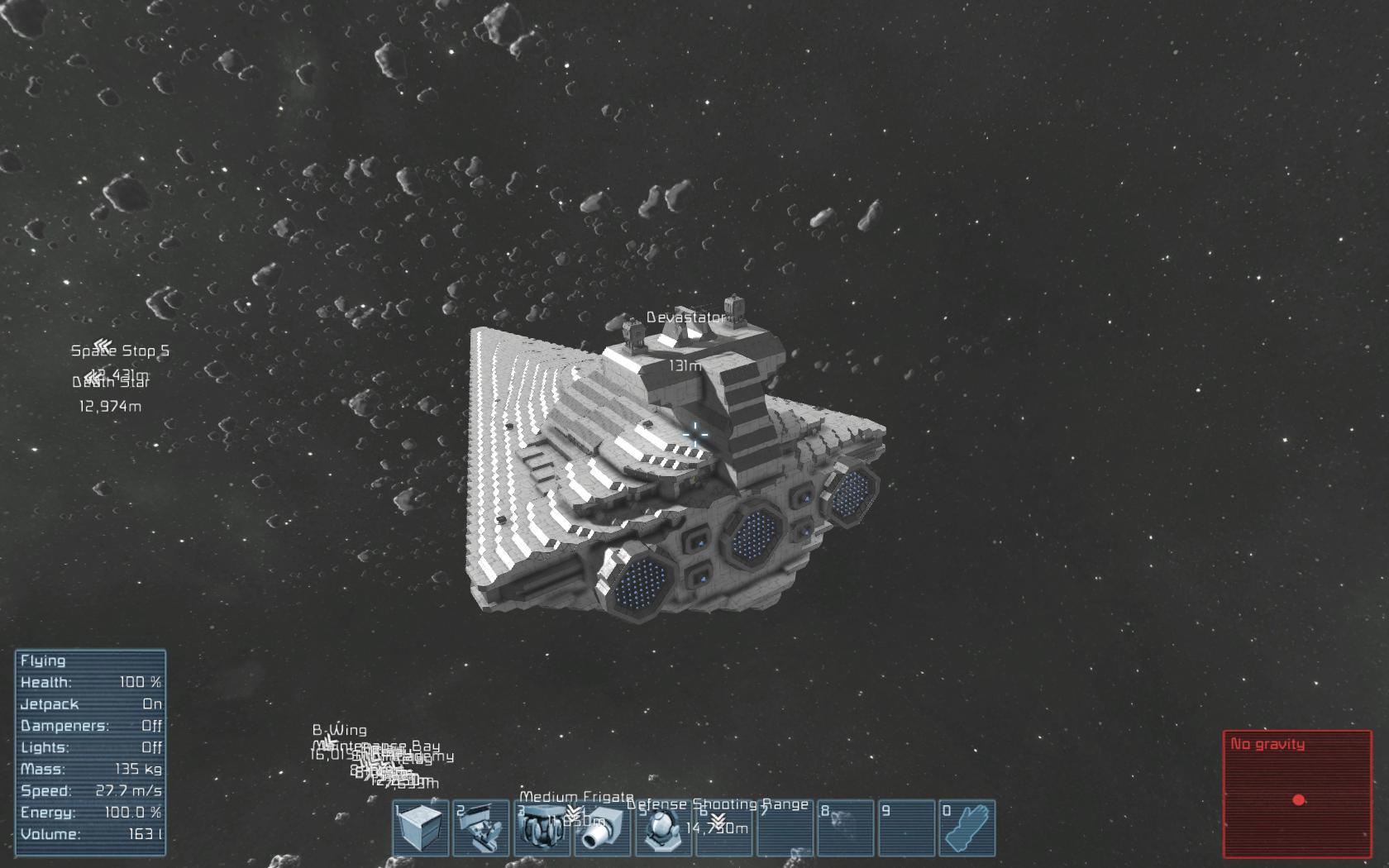 Space Engineers laka Star Wars moderov Sector