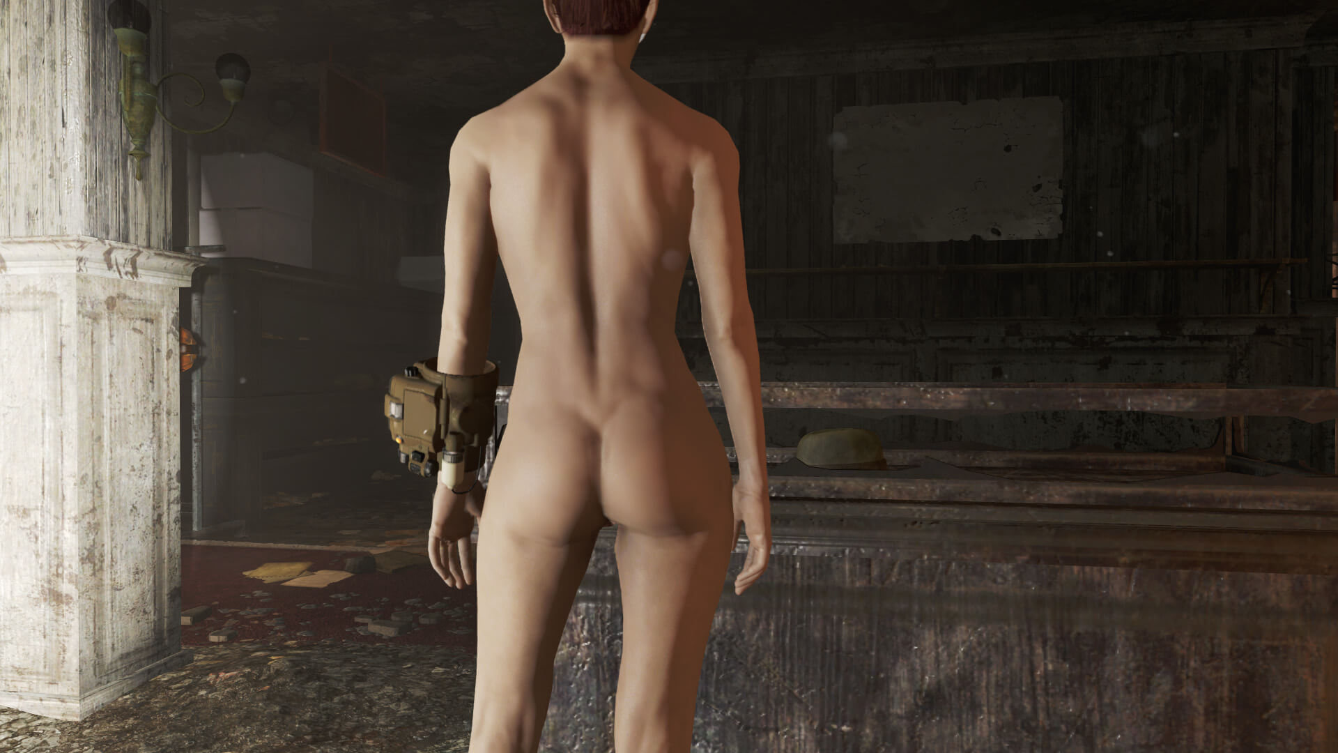 Fallout 4 naked chicks naked clip