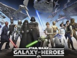záber z hry Star Wars: Galaxy of Heroes