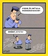 Pol�cia vy�etruje vra�du
