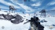 4K z�bery zo Star Wars Battlefront mapy Hoth