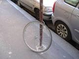 Dobre zamknut� bicykel