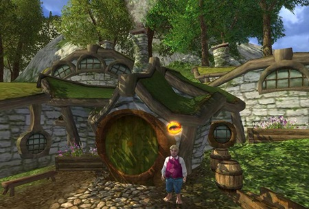 Lord of the Rings Online sp�ja servery a br�ni Minas Tirith