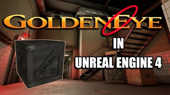 Pozrite sa na GoldenEye 007 prepracovaný v Unreal Engine 4