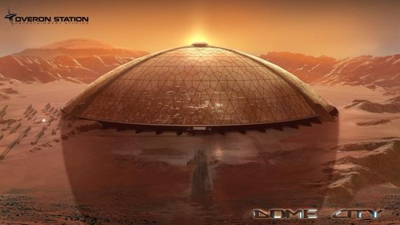 Dome City od v�s chce, aby ste na�li sp�sob ako unikn� z Marsu