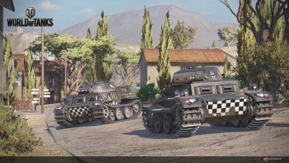 PS4 verzia World of Tanks m� d�tum vydania